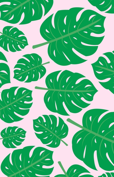 tropical leaf DW